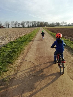 Enno Fahrrad 2©Grundschule Nendorf