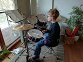 Enno Schlagzeug©Grundschule Nendorf