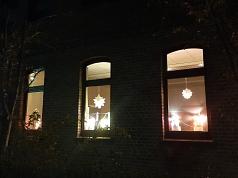Laternenfenster©Grundschule Nendorf