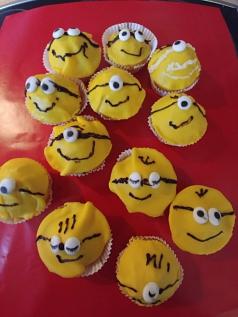 Minion-Muffins©Grundschule Nendorf