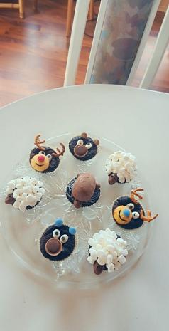 verschiedene Muffins©Grundschule Nendorf